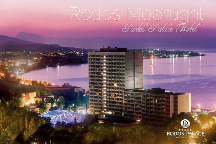 Enjoy the view of full moon tonight, at #Rodos #Palace.   #hotel #holidays #Greece #5star #luxury
