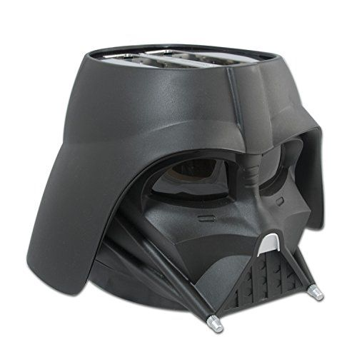 Darth Vader toaster - for when you like your bread a little on the dark side. Star Wars fans will love this kitchen essential.