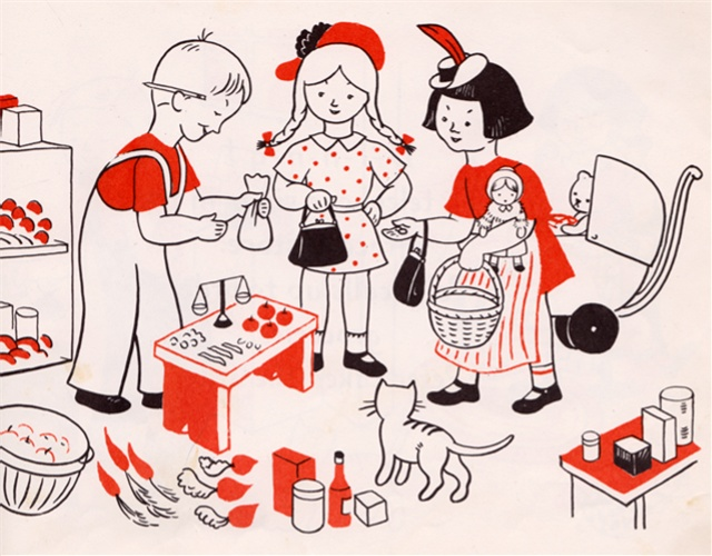 Let's Play House- written & illustrated by Lois Lenski (1944).: Plays Houses, Play Houses