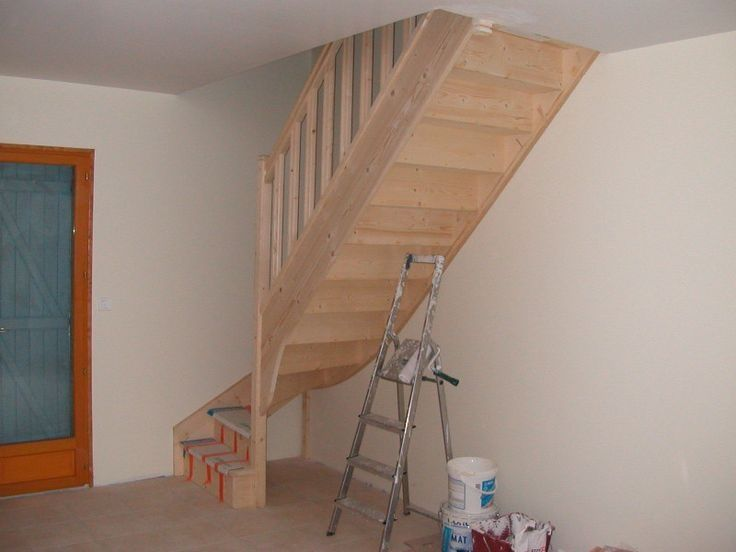 25 best ideas about attic ladder on pinterest attic loft garage attic and attic definition - Stair designs for small spaces minimalist ...
