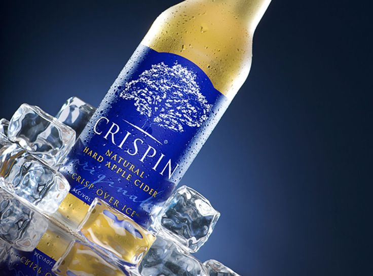 Crispin Original   Crisp, refreshing natural hard apple cider  Crisp over ice. A classically styled, but untraditional hard apple cider. Fruit forward, with a fresh, crunchy appley nose and a deliciously refreshing, crisp mouth feel.
