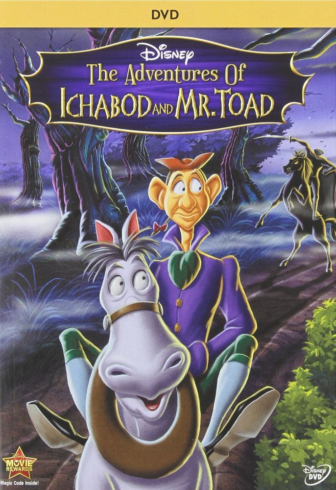 Adventures Of Ichabod &Amp; Mr. Toad