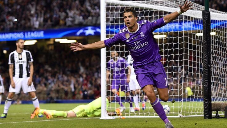 DOBLETE CRISTIANO UCL FINAL CARDIFF 2016/2017 MADRID 4X1 JUVENTUS