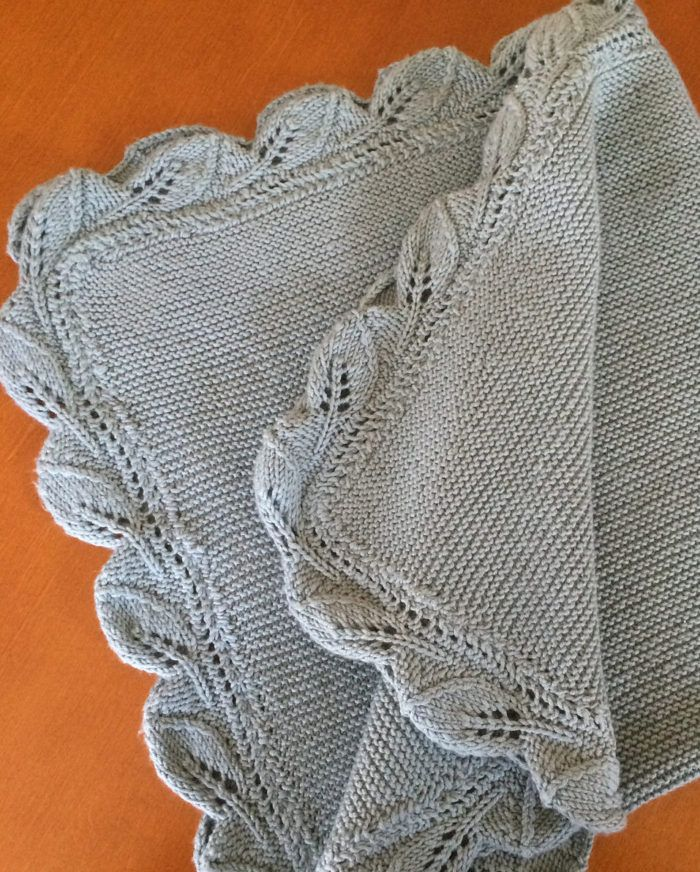 cd813ee00aa9 Free Knitting Pattern for Sproutling Baby Blanket - Garter stitch ...