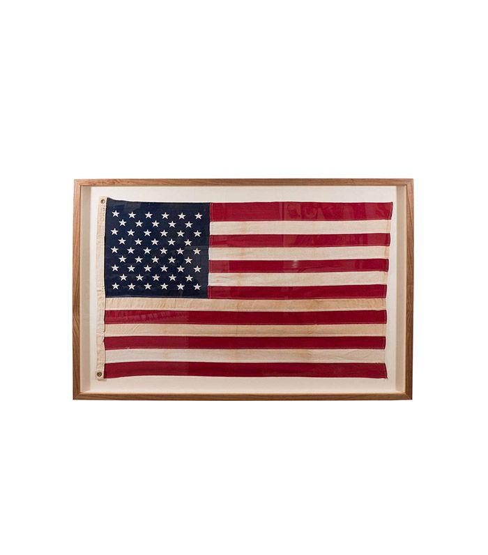 27 best Framed Vintage American Flags images on Pinterest | Framed ...