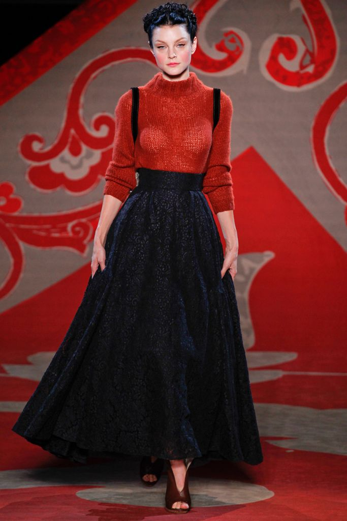 Jessica Stam -Ulyana Sergeenko Couture Fall/Winter 2012-13, July 3rd 2012