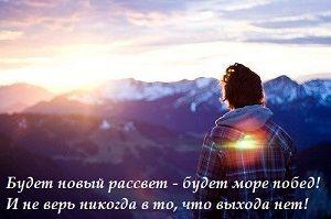 В воле человека есть сила стремления, которая превращает туман внутри нас в солнце. Джебран Халиль Джебран  Человек — все равно, что кирпич; обжигаясь, он становится твердым. Джордж Бернард Шоу