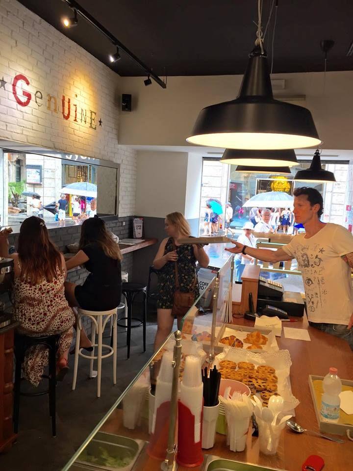 Genuine Bread & Fruits via del Corso 77 #roma Progetto e realizzazione #RPMproget www.rpmproget.it