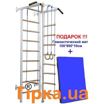 "изображение Шведская стенка ""Stа-рт-2"" + гимнастический мат"