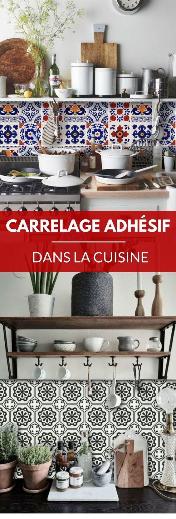 Best 25 carrelage adhesif ideas on pinterest carrelage adh sif cuisine ad - Faux carrelage adhesif ...