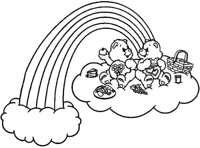 love care bear coloring pages - photo#32