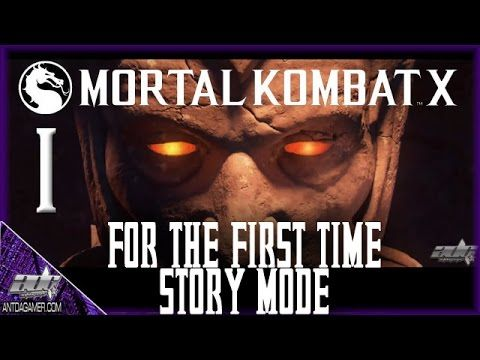 MORTAL KOMBAT X (XB1/PS4) STORY FOR THE FIRST TIME | #1 | ADG Plays