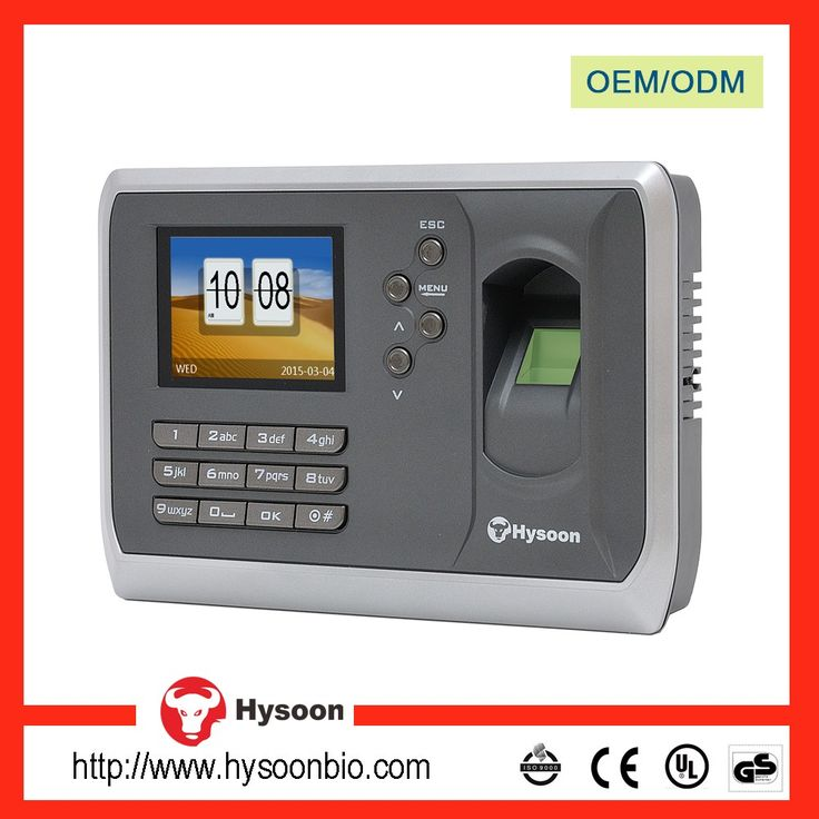 China price fingerprint time attendance system with id card passwords