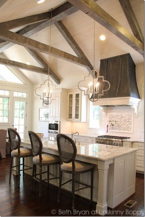 17 best ideas about wooden beams ceiling on pinterest for Open beam ceiling ideas