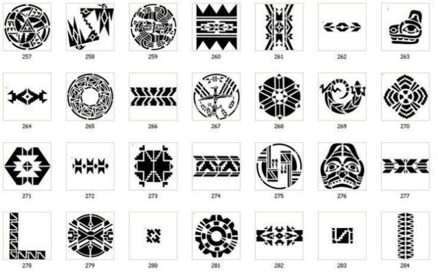 Aztec Tribal Tattoos And Their Aztec Tribal Tattoos Tribal Symbols Native American Symbols