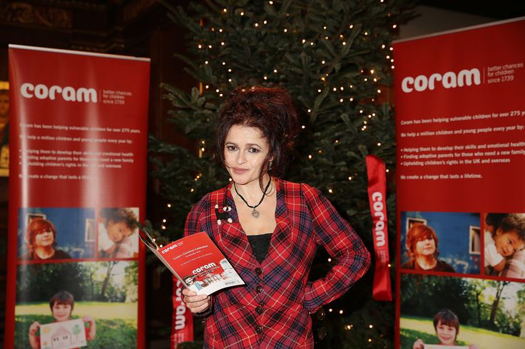 Award-winning actress Helena Bonham Carter CBE, renowned BBC radio broadcaster James Naughtie and Brit & MOBO nominated girl band, Stooshe joined the Christmas celebrations held by England's first dedicated children's charity Coram at St Andrews church in Holborn for our 2015 Chrismas Celebration