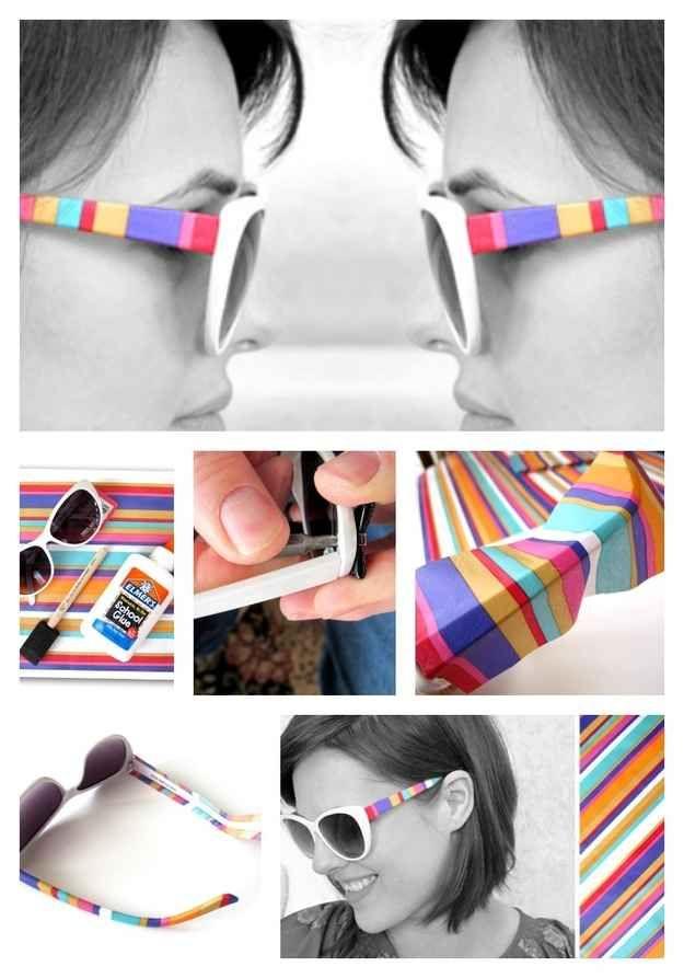 Mejores 20 imágenes de DIY Gafas en Pinterest | Gafas de sol, Gafas ...