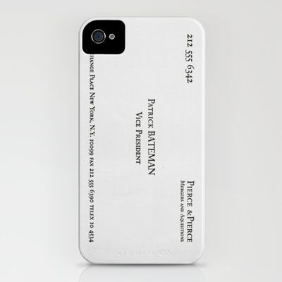 American Psycho iPhone & iPod Case