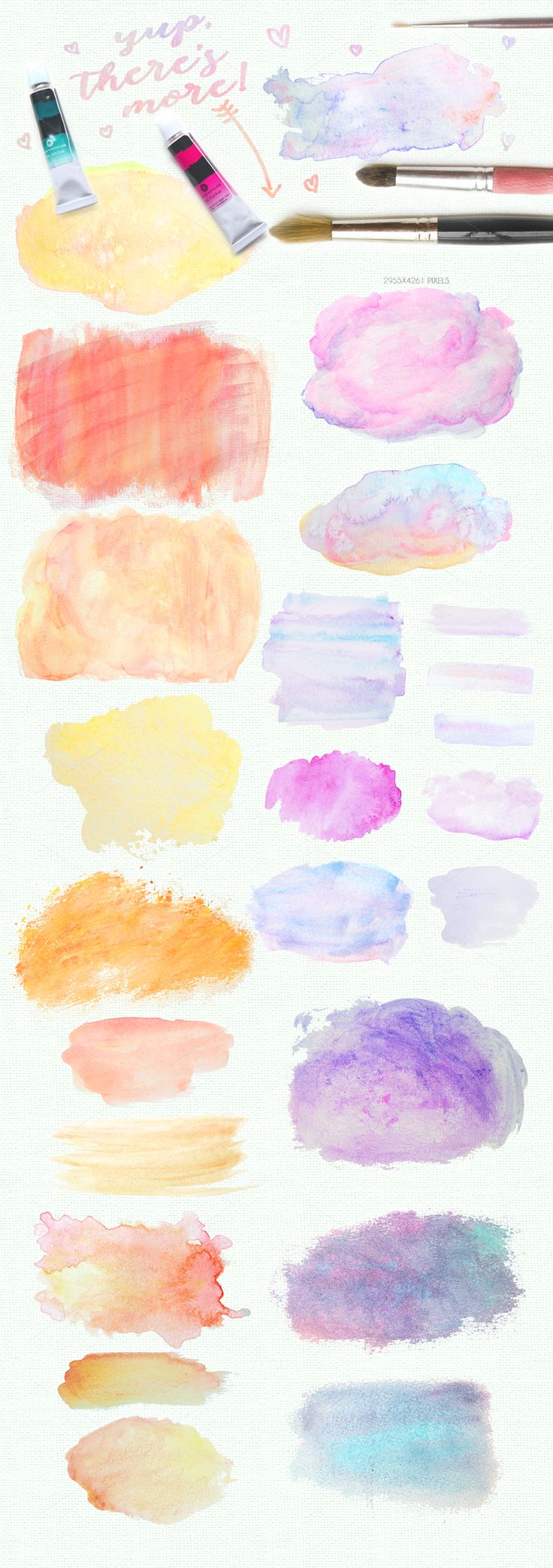 The Epic Designer Watercolor Kit on Creative Market