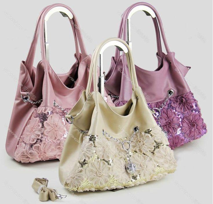 Мода Лето Новая Мода аппликация цепь Кожаная Сумка, цветы украшение сумки, рекламные марка женщин конструктора сумка
