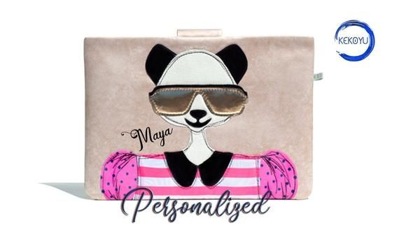 Surface Pro Case, Personalized Gift, Surface Panda Case, Surface Go, Surface Book 2, Handmade, Surface Book Case, Surface Pro Sleeve