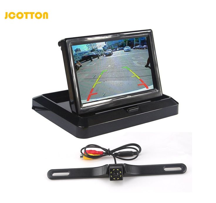 46.99$  Watch now - http://ali33d.shopchina.info/go.php?t=32776085053 - Set Parking Video 5 inch Foldable TFT Lcd Color Camera Car Monitor Rear View Camera and LED Light Waterproof Night Vision Camera 46.99$ #magazineonlinewebsite