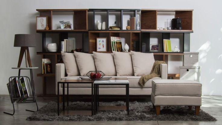 Mobiliario- Librero & Lámpara de Mesa - Roku Design | Lámparas de Mesa - Mod. Mesa Fogo