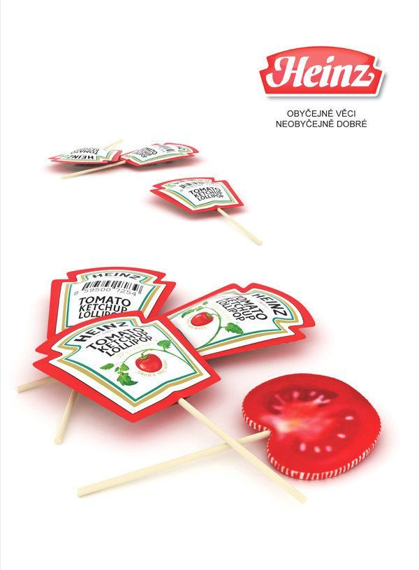 These ketchup-packet lollipops. | 34 Aggressively Cute Packaging Ideas You Need To See