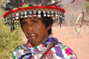 """The Huichol or Wixáritari (Huichol pronunciation: /wiˈraɾitaɾi/) are a Native American ethnic group of western central Mexico, living in the Sierra Madre Occidental range in the Mexican states of Nayarit, Jalisco, Zacatecas, and Durango. They are best known to the larger world as the Huichol, however, they refer to themselves as Wixáritari (""""the people"""") in their native Huichol language."""