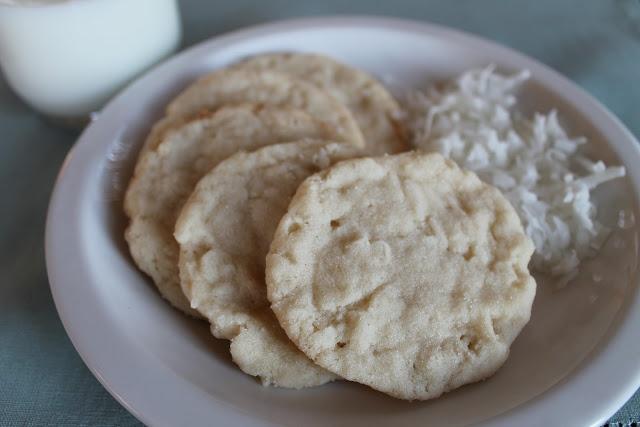 Coconut Sugar Cookies - yummy!  ♥