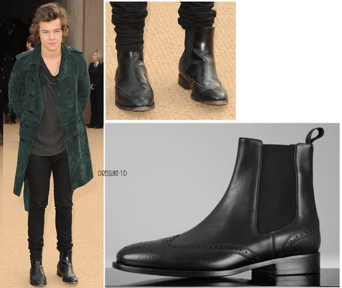 Harry Styles's chelsea boots #harrystyles #onedirection # ...