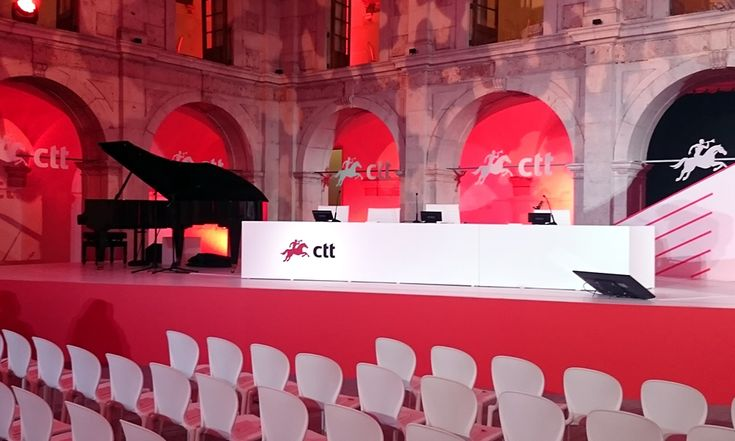 BANCO CTT  .  SIGNAGE Launch Event - Convento do Beato, Lisbon