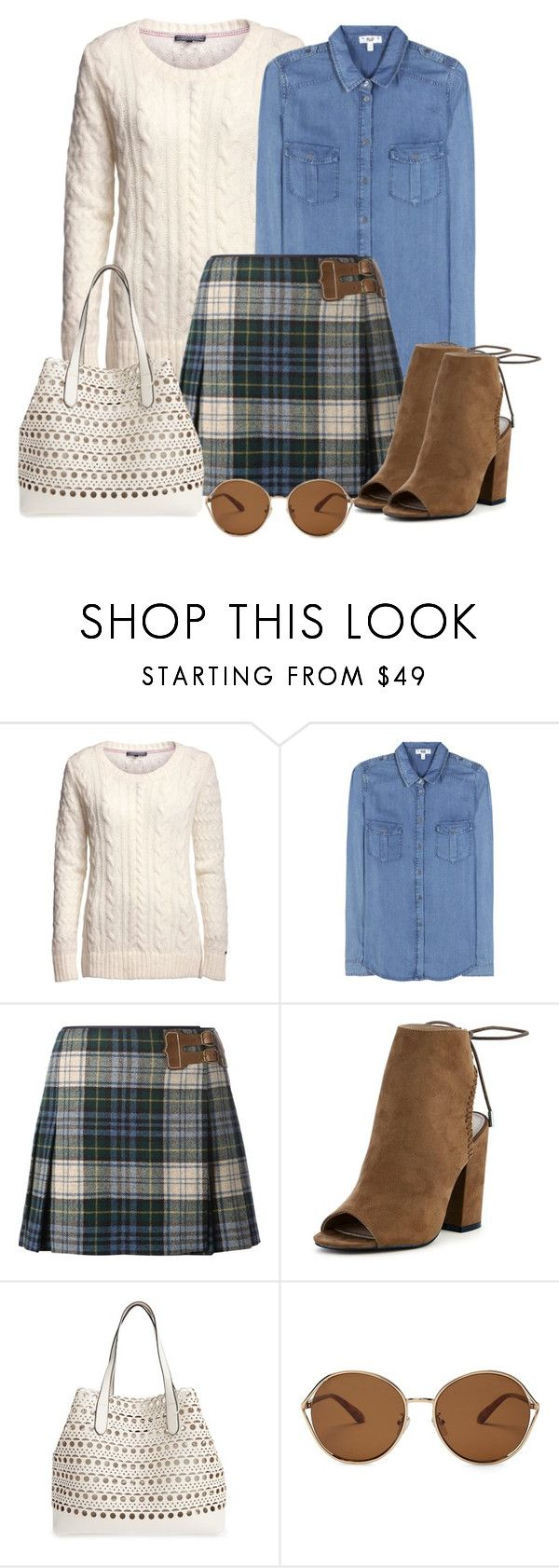 """""""Untitled #1577"""" by gallant81 ❤ liked on Polyvore featuring Tommy Hilfiger, Paige Denim, Polo Ralph Lauren, Street Level and TOMS"""