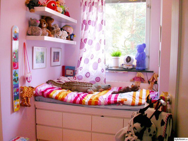 compact living,barnsäng,barnrum,rosa,lila,malm,smart lösning