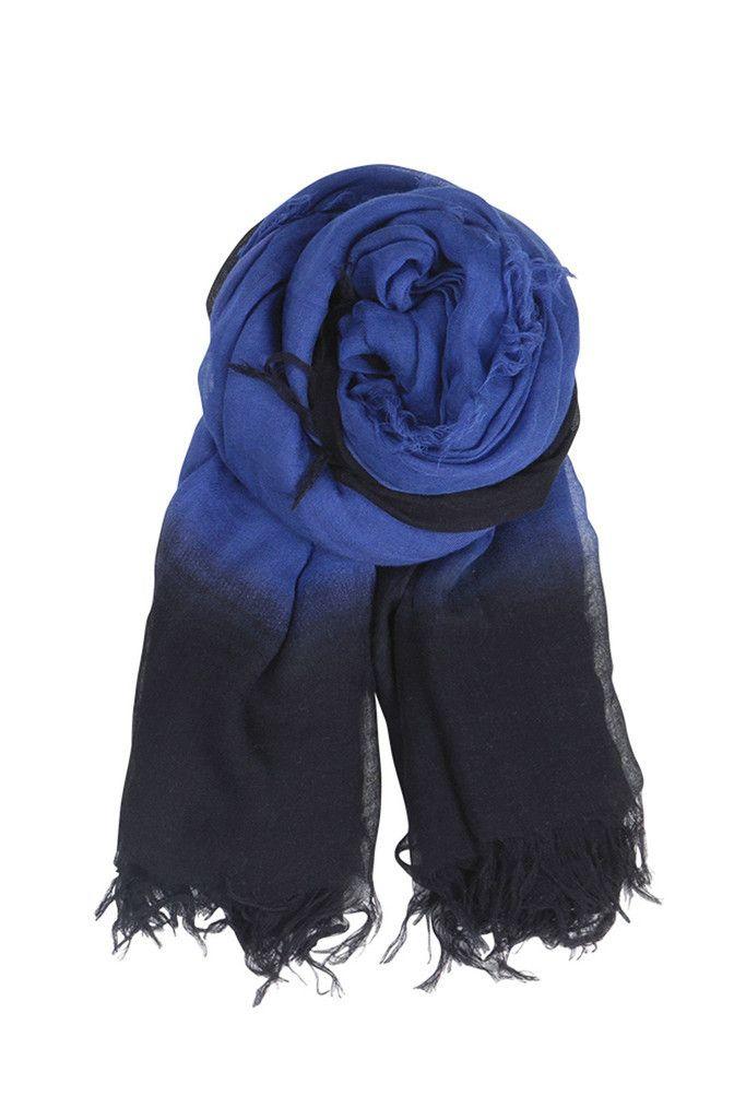 Casiopia Scarf - Cobalt | Nomadista.co HANDMADE, SCANDINAVIAN. ethical fashion, fashion for good, responsible fashion, ecofashion, sustainable fashion