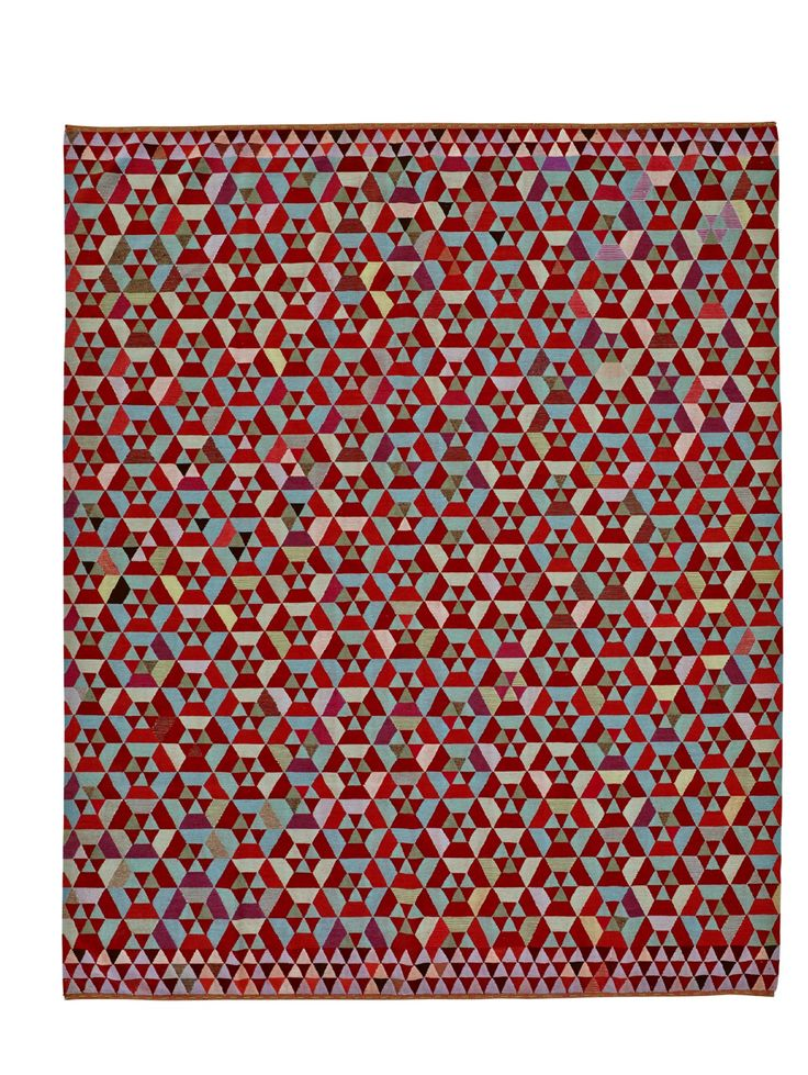 HEX HEX rug Design:  BERTJAN POT  Available  in Almond as shown or strawberry. The richness of their geometric construction almost makes them seem animated offering a multiplicity of angles from which they may be 'read' like 1960s Op Art.  240 x 160 cm or 240 x 300 cm .