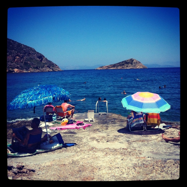 One of our favorite spots in porto rafti, Greece