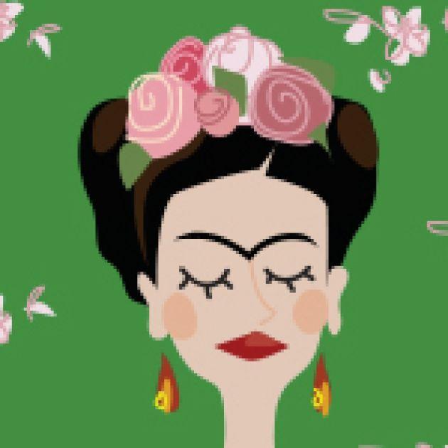 Resultado de imagen para dibujos de frida kahlo para colorear