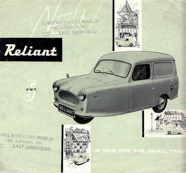 Reliant Van