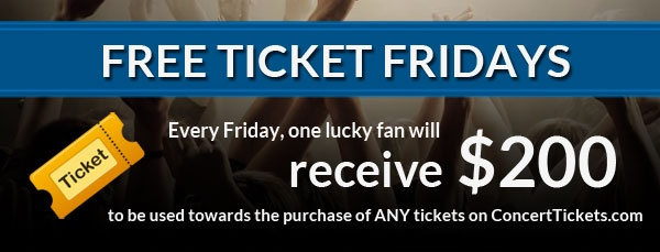 Enter to win $200 worth of free concert tickets! Who else could use these to get out of the house and listen to some favorite music? Whoo!