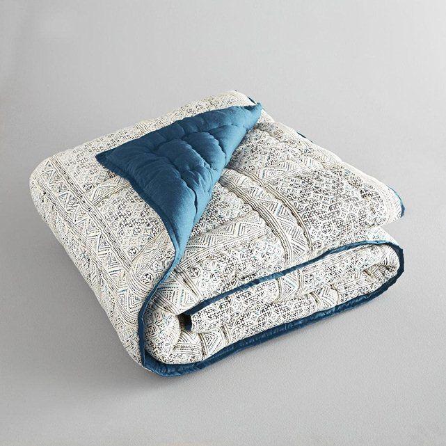 Boutis Ethnik AM.PM : prix, avis & notation, livraison. On aime son imprimé style ethnique.Enveloppe 100 % voile de coton, doux et moelleux, finition biais contrastant. Garnissage 100 % polyester. Lavable 30°. Fabrication artisanale.