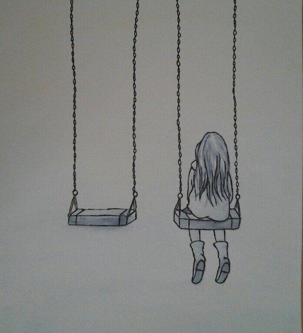 sad love drawings