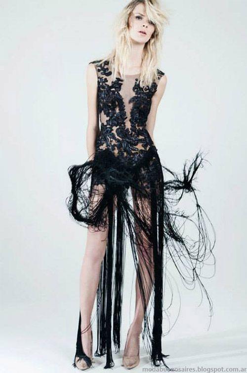 Natalia Antolin colección de vestidos de fiesta 2015. Moda primavera verano 2015.