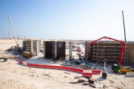 Qatar's Al Khor World Cup stadium starts to rise from the ground - Doha News
