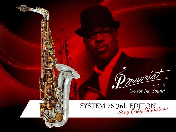 P.Mauriat'ın eşsiz tonlarını keşfedin! Greg Osby Signature Profesyonel Alto Saksafon ⭐  1enstruman.com/pmauriat-system-76iii-goss-greg-osby-signature-w-sterlin-silver-neck-profesyonel-alto-saksafon-1