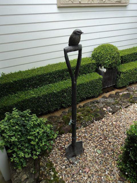 garden sculpture, helen ellis. mornington penninsular, victoria...