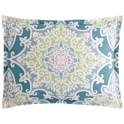 Turquesa Tile Standard Pillow Sham