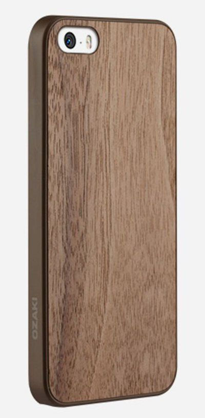 SO UNIQUE, The Ozaki IPhone 5 O!Coat is a great looking hard case, with a wood finish that looks refined and fancy and, more importantly, protects your phone from drops and scratches. http://www.zocko.com/z/JH8gQ