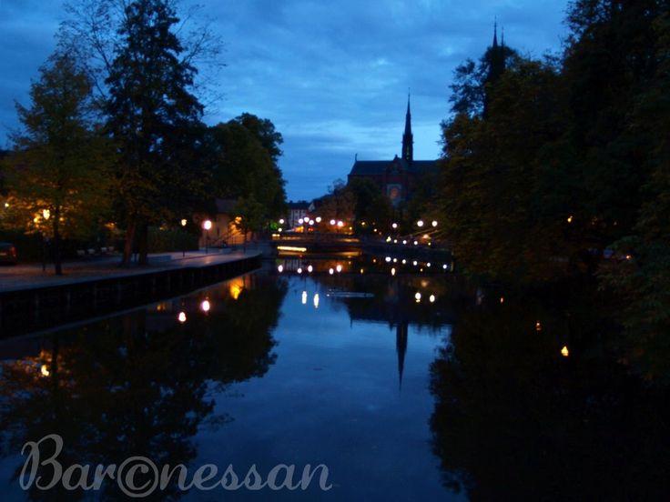 Blå timmen, Uppsala