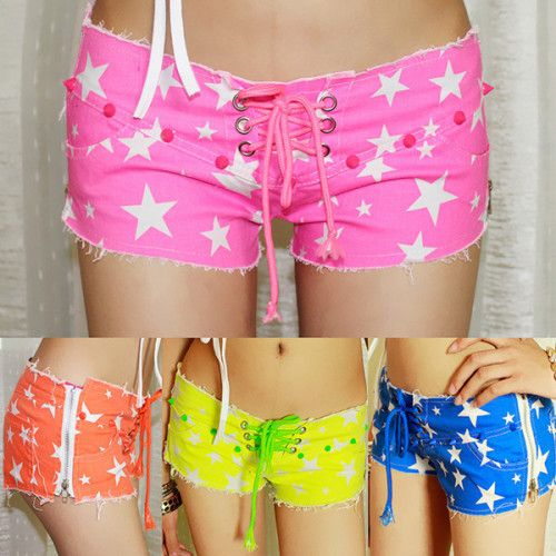 Jeans Short with Star 02